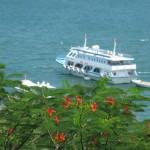 Composite ship in Hon Ro -Nhatrang