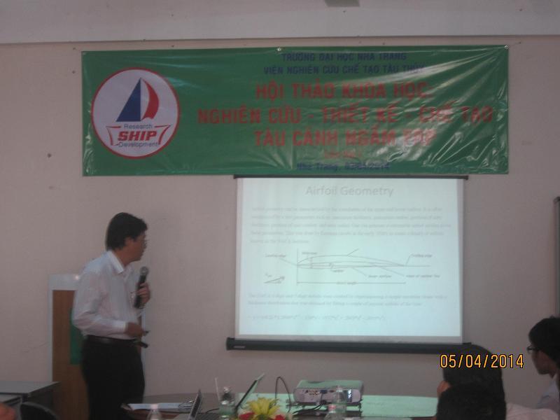PGSTS Ngô Đăng Nghĩa Báo cáo chuyên đề: Airfoil