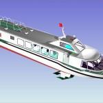 Mẫu tàu Uninship2014