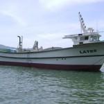 Tàu LATES - Tàu vỏ composite lắp cẩu tự hành phục vụ ngành nuôi biển
