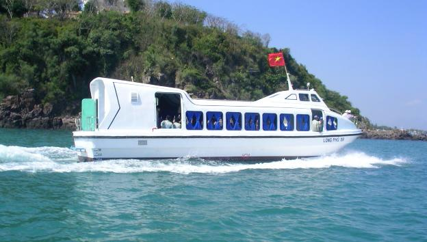 Tàu Long Phú 09 - Tàu khách vỏ composite sản xuất năm 2005
