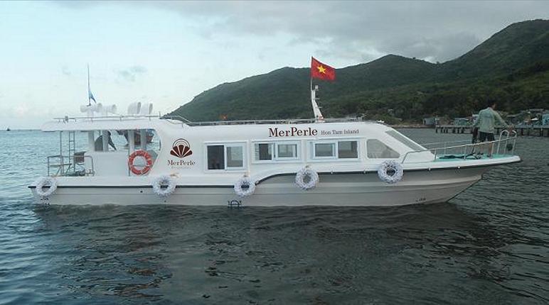Kể từ ngày 27/5/2013, tàu đã được chuyển giao cho công ty Hòn Tằm biển Nha Trang