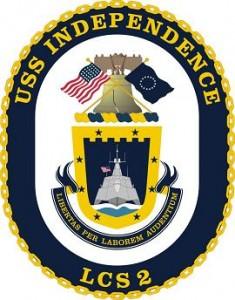 Phù hiệu của tàu USS Independence - LCS2