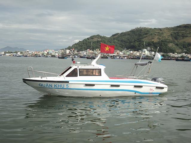 Canô Tuần tra - Du lịch model VTTC - 2011