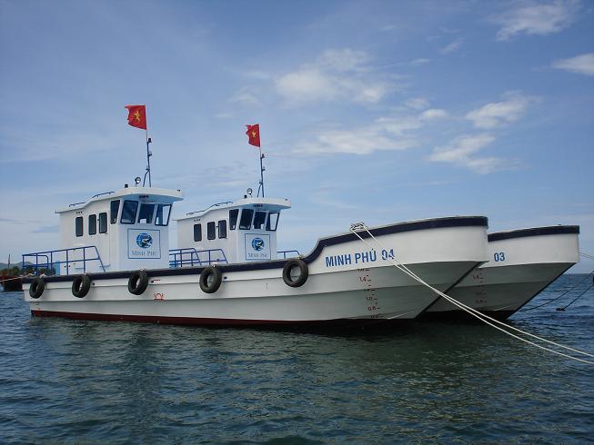 Tàu Minh Phú - Tàu chở hàng thủy sản đông lạnh hoạt động ở khu vực đồng bằng sông Cửu Long