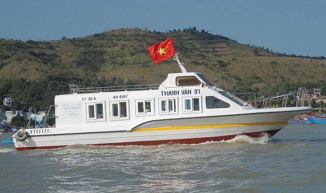 Tàu cao tốc Thanh Vân 01