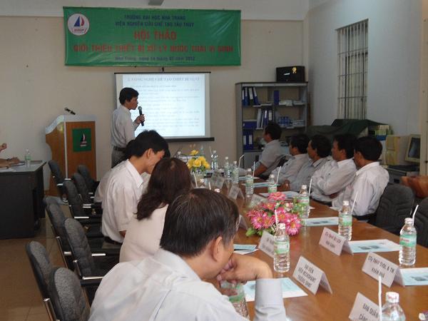 2. ThS. Phạm Văn Thu giới thiệu về thiết bị XLNT01- UNINSHIP