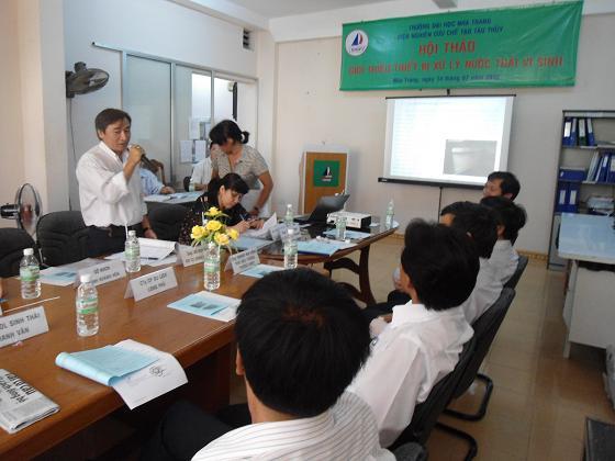 4. ThS. Võ Duy Quý - Giám đốc Chi cục Đăng kiểm 5 nhận xét về thiết bị XLNT01-UNINSHIP