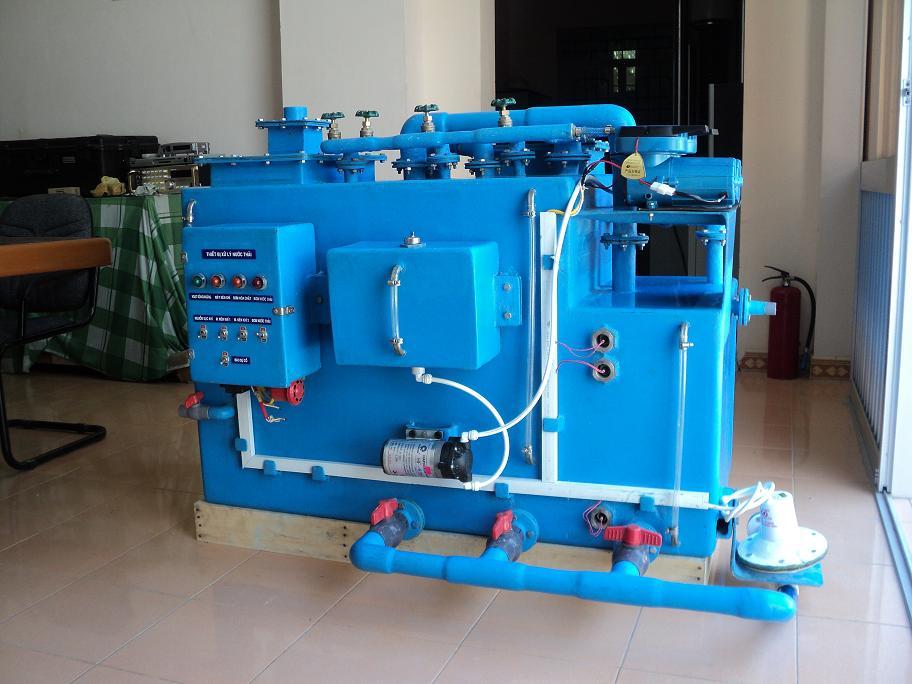 Hệ thống xử lý nước thải trang bị trên tàu 50 khách và các trại nuôi cá biển