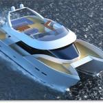 Hình minh họa tàu Catamaran
