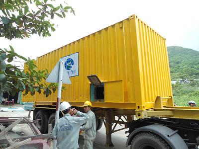 container bảo quản lạnh cho xe chuyên dụng